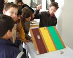 Experimental activities exhibition for students of the final two grades of Primary School.
